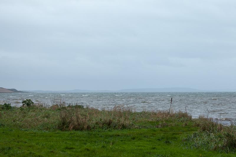beach past greyabbey