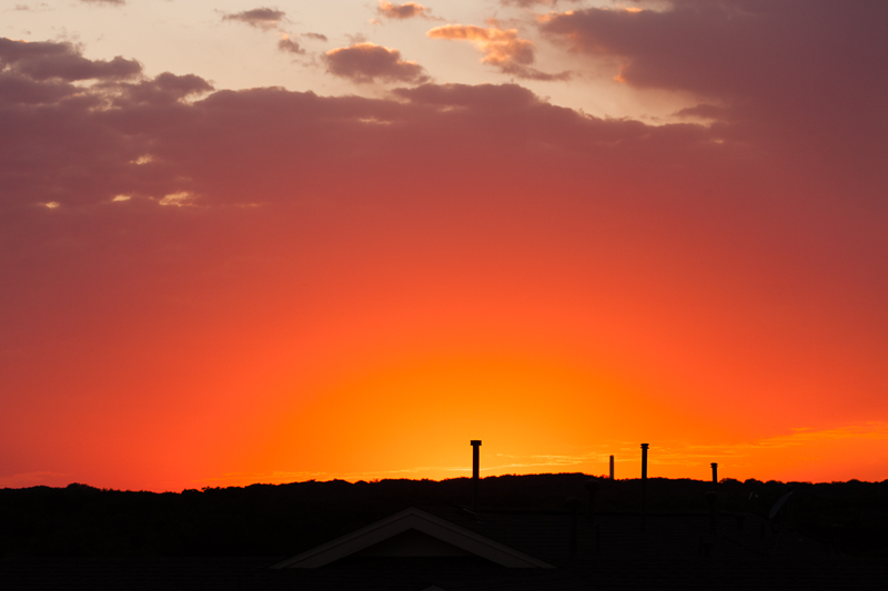sunset 040816