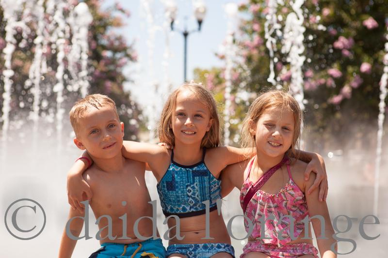 the three fountain