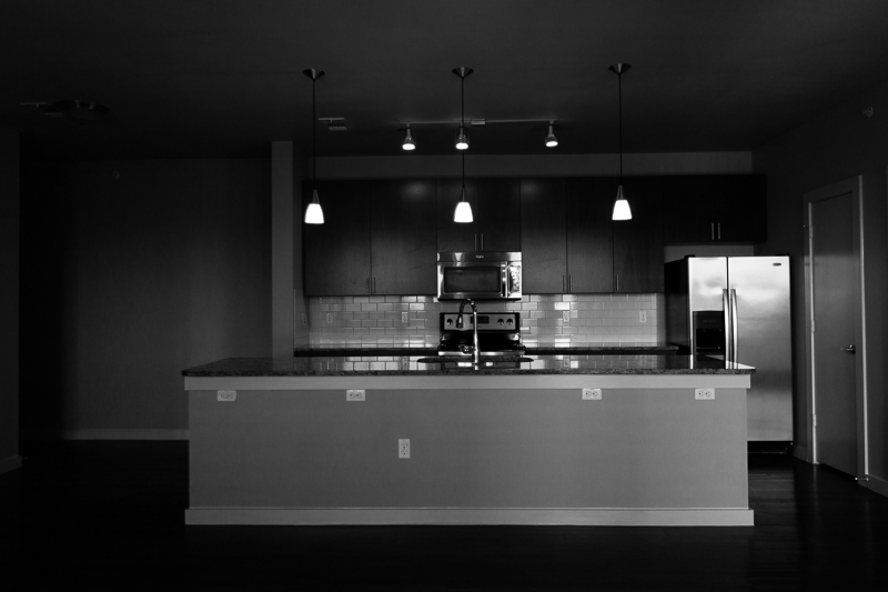 new kitchen bw