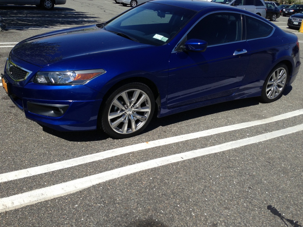 Accord Coupe 9th Generation Hfp Wheels On 8th Generation