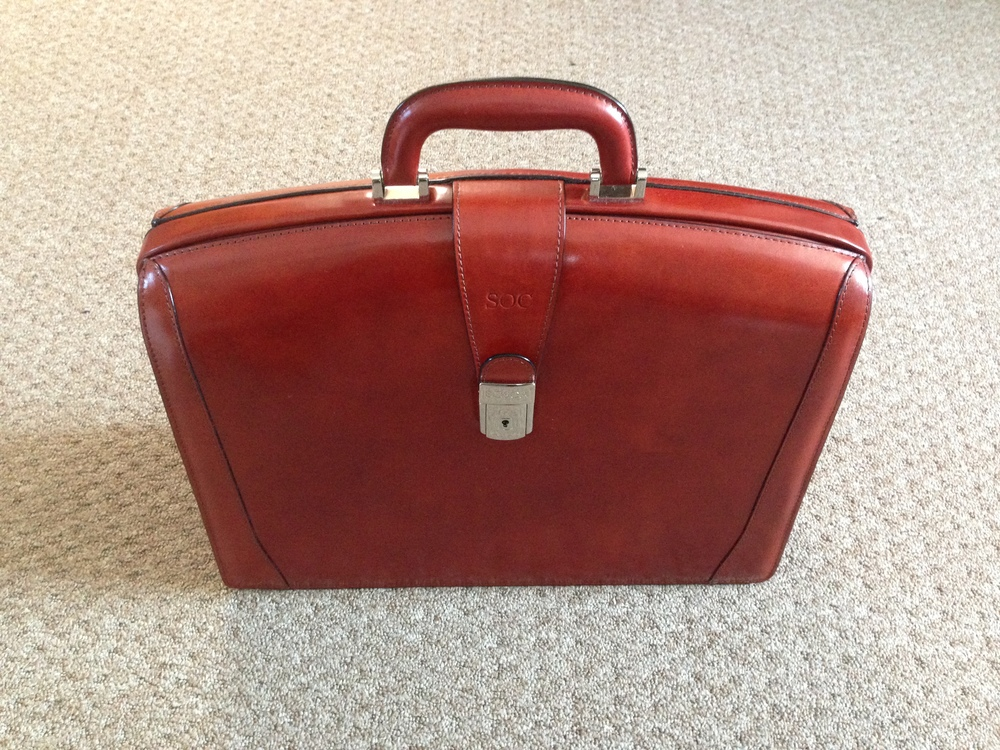 86dc36b5f5b7 The Best Lawyer Briefcase  Bosca s Old Leather Partner s Brief — The ...