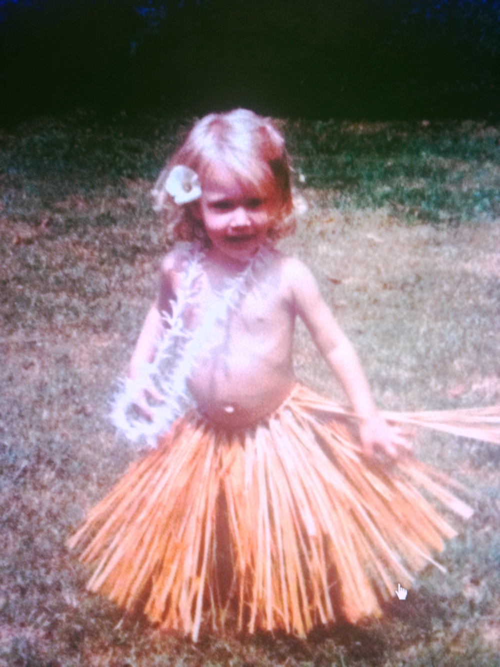 When I was a wee babe. Dancing is in my earliest roots.