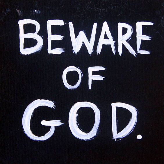 Beware of God by Messy Canvas—a secret message that was also part of a course we created together.
