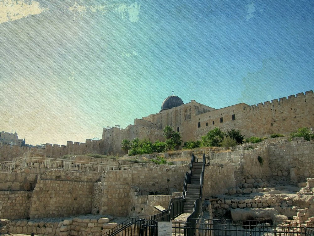 The Temple Mount in Jerusalem, capitol of Israel