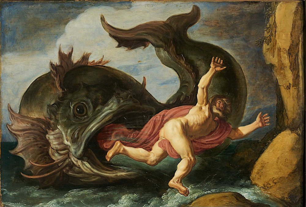 Jonah and the Whale by Pieter Lastman, 1621