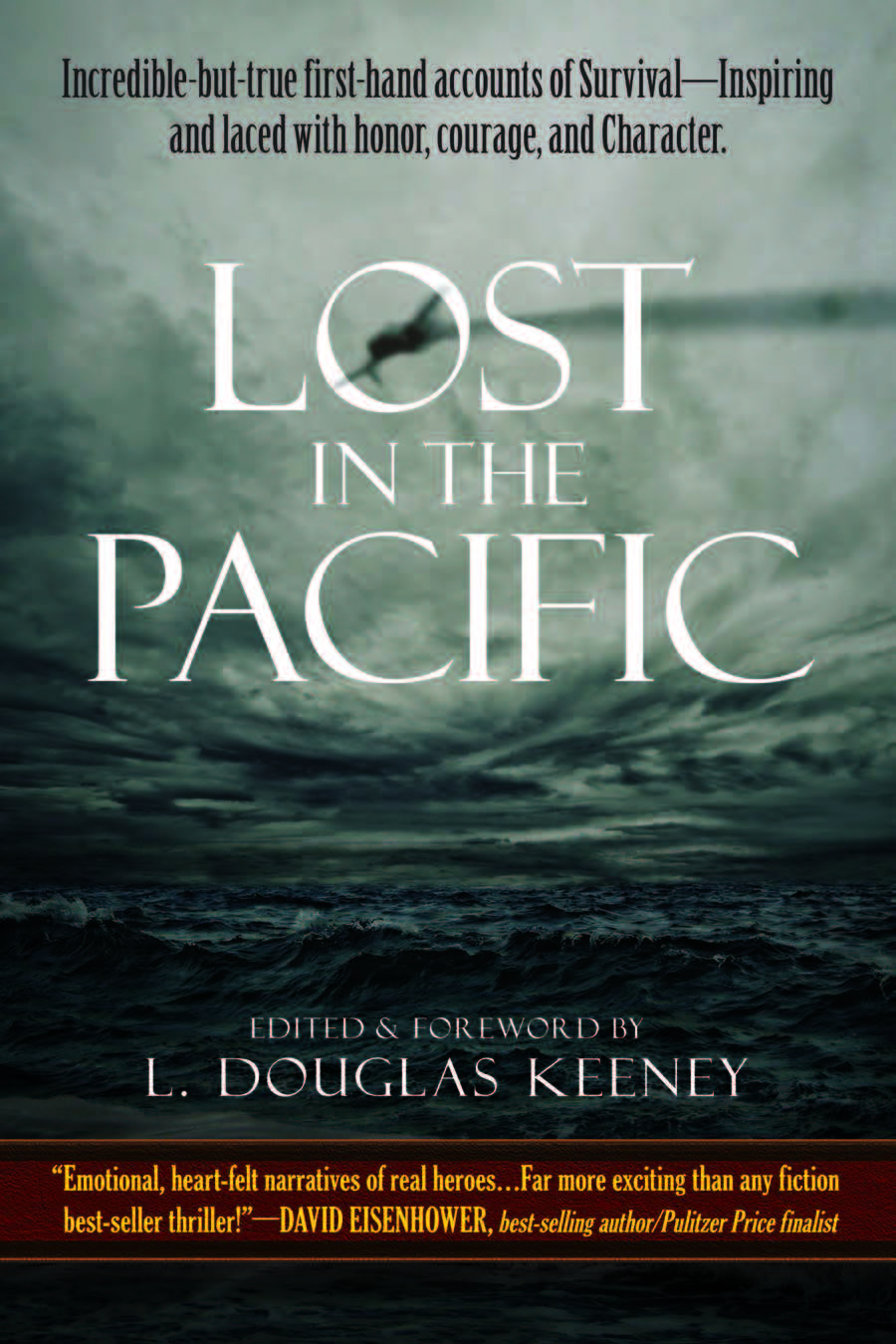 This keynote is based on the inspiring stories from the book  Lost in the Pacific.
