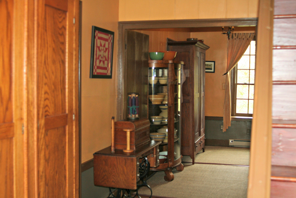 Second floor hallway