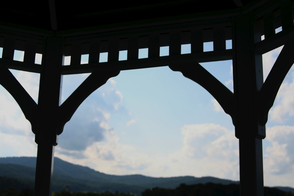 View from the gazebo