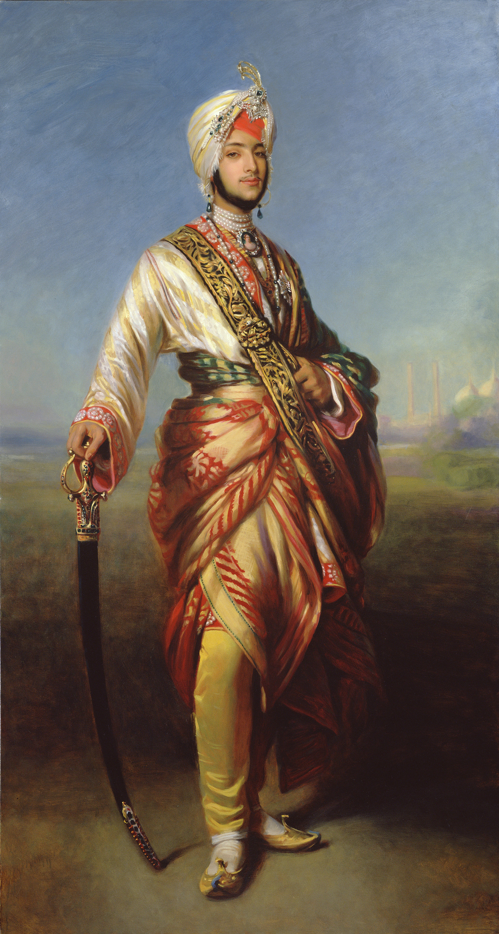Maharaja Duleep Singh after FX Winterhalter