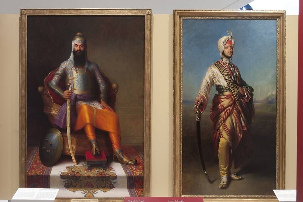 Kings of the Punjab at Royal Ontario Museum, Toronto, 2010