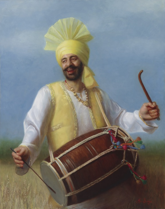 The Dhol Player