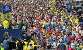 The start of the 2013 Boston Marathon