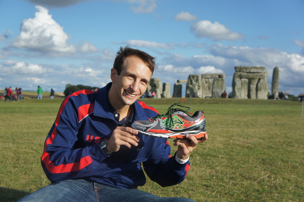 Repping the greatest shoes in the World, New Balance and their new RunnOvation campaign :)
