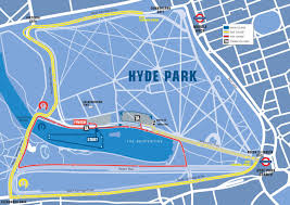 The course map for the 2013 Paratriathlon World Championships