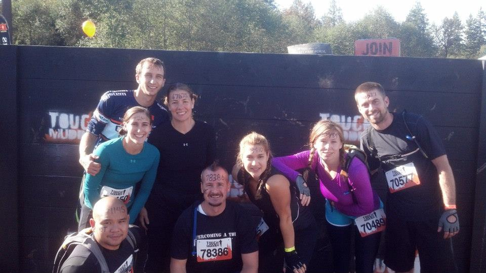 Team Warrior Strength before Tough Mudder Seattle