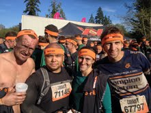 Team Warrior Strength after completing Tough Mudder Seattle