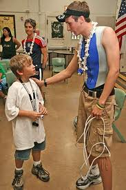 In 2004, I was invited to do the Honolulu Triathlon and was able to speak with the kids at the Honolulu School for the Blind.  This kid wants to be the next World Champion.  He got a few good tips from me so people better watch out!