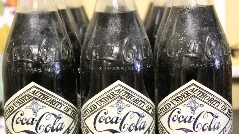 Vintage Coca-Cola bottles