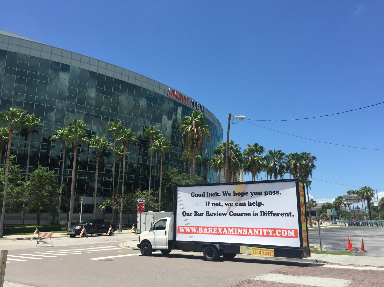 Tampa Mobile Billboard — Mobile Advertise Miami