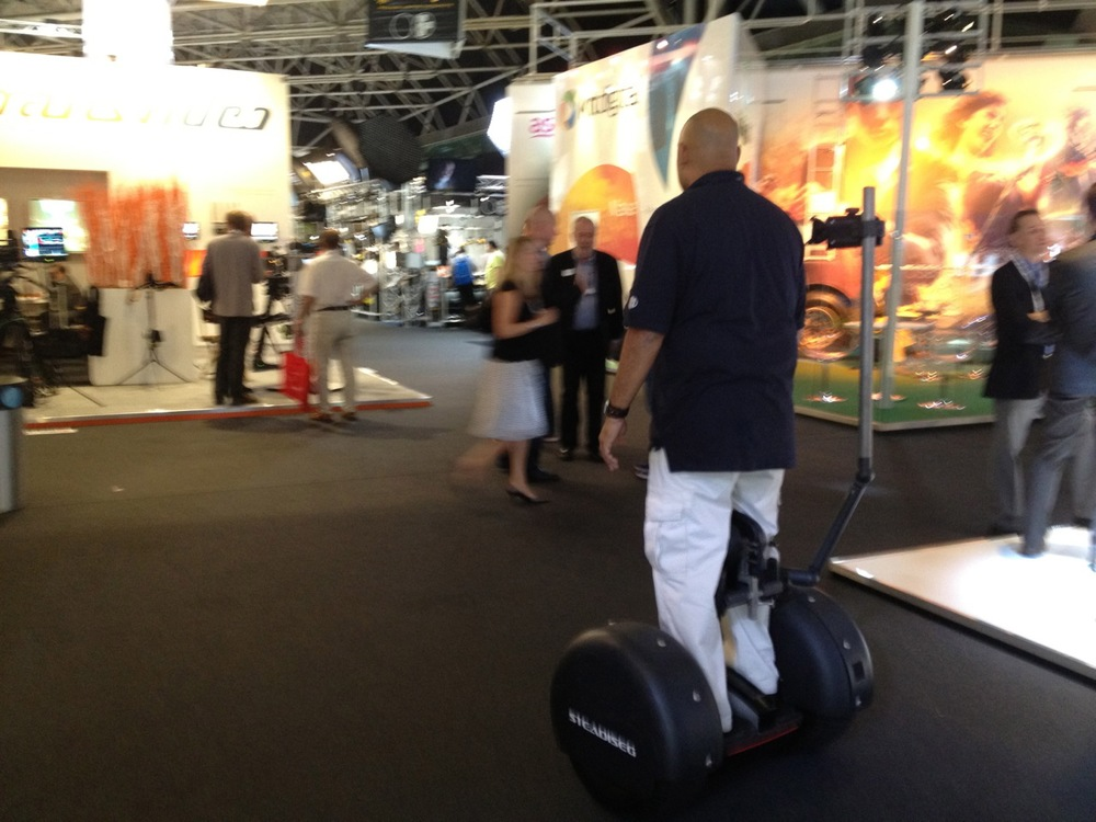 Typical Work Day at IBC 2012