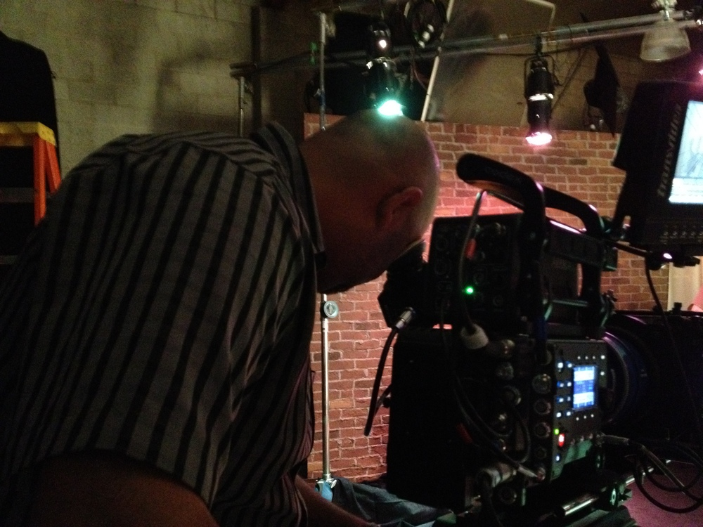 Shooting with Dolby Labs at the Arri stage