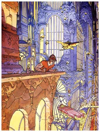 Influential artist Moebius passed away