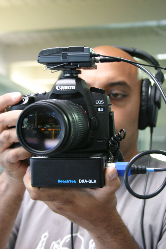 Finally! Audio for your DSLR with the Beachtek DXA-SLR