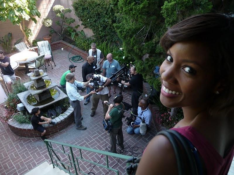 Erika's Call - scene filmed during Canon DSLR Boot Camp Level2