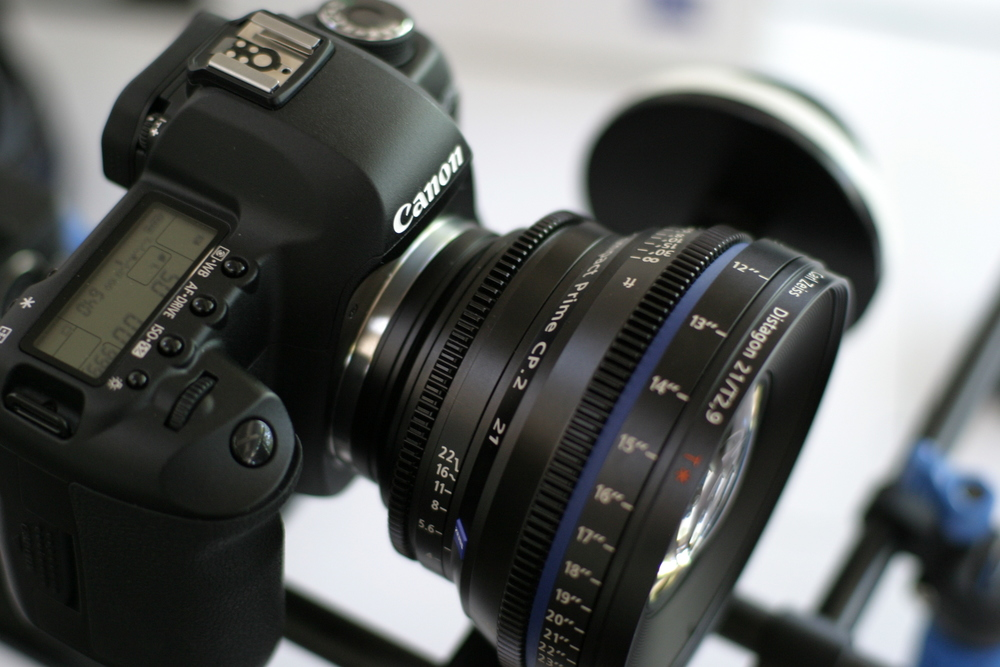 Zeiss sent Compact Prime lenses for evaluation