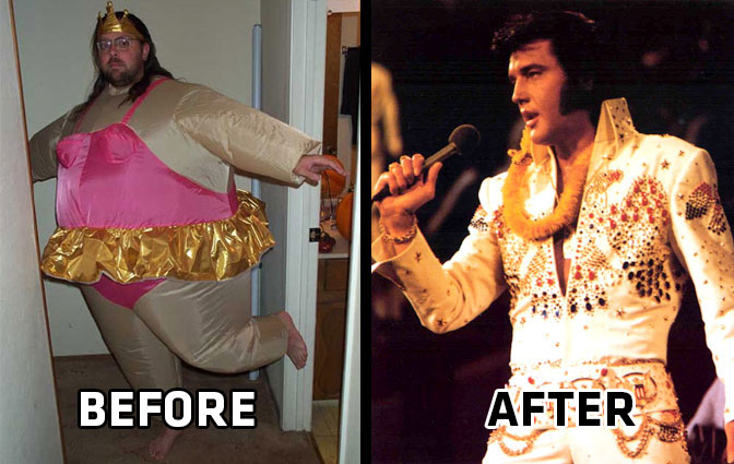 Elvis Before and After