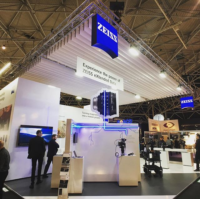 IBC2017 Zeiss Booth #Zeiss #lenses #cameras