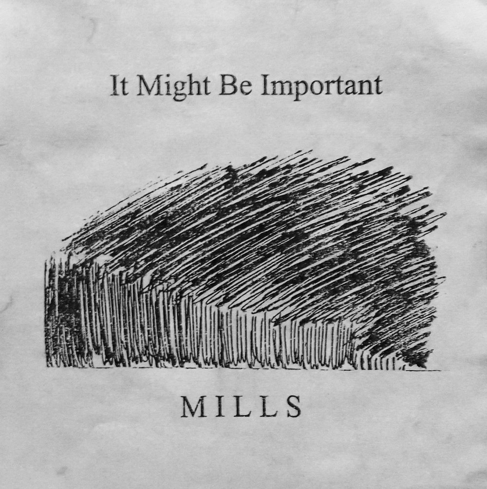 "Book Cover ""It Might Be Important"" by Mills"