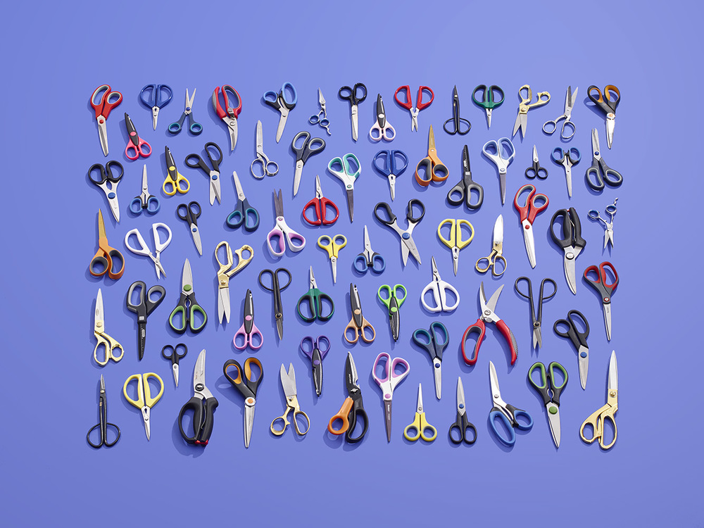 72 Scissors - Technically 144 blades but who's counting :)