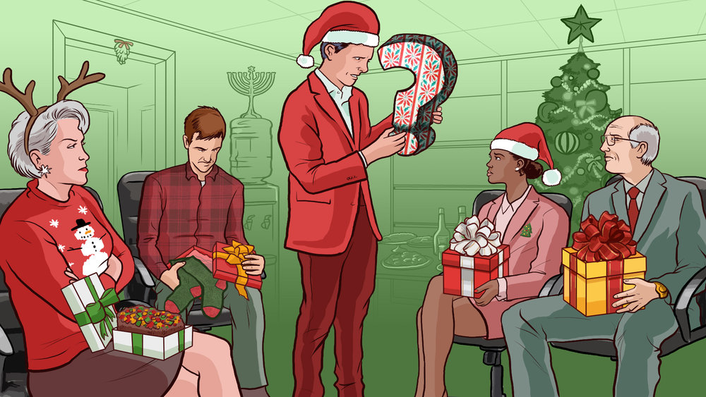 A Don't-Get-Fired Guide to Exchanging Gifts at Work