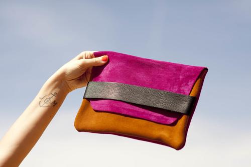 Envelope - Fuschia + Sand