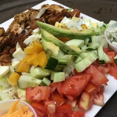 Jamaican Cobb Salad