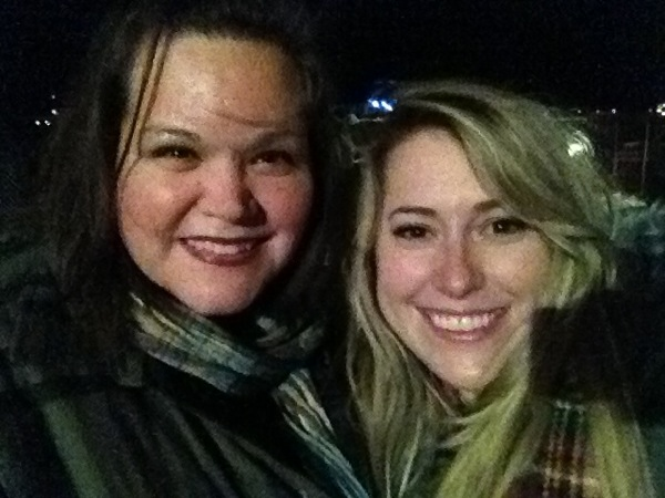 Shmesa and I at The Black Keys show