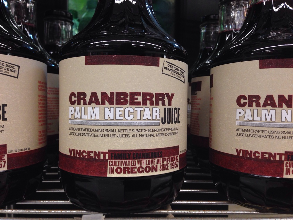 Vincent Family Cranberry Juice