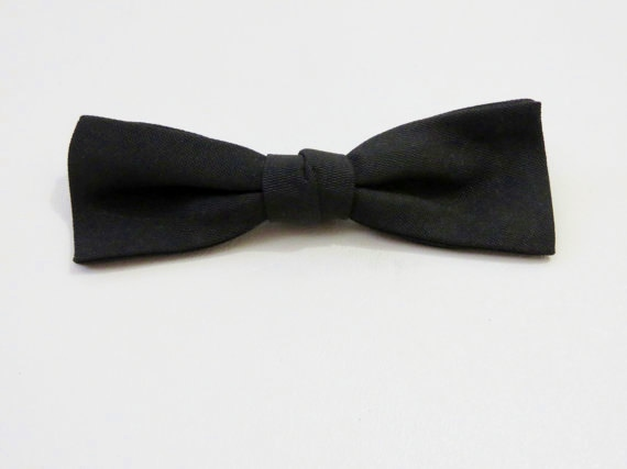 Vintage clip-on bow tie