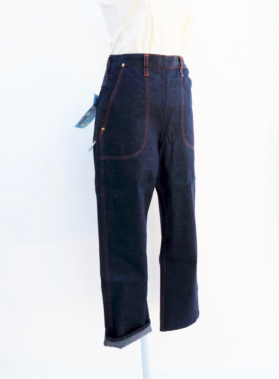1940's Denim Pants by Blue Bell with Original Tags