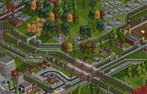 What most people remember from the game is thanks to OpenTTD