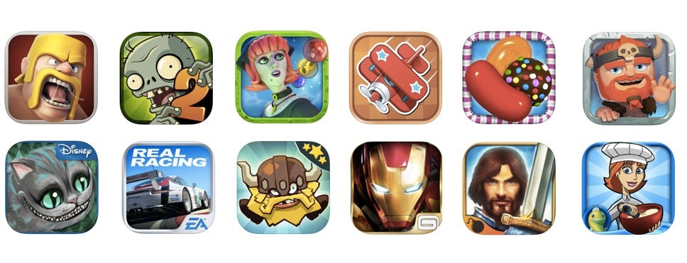 Themes Games Apps Theme in Game Icons For