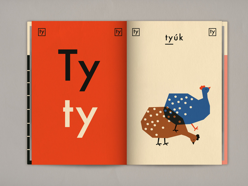 Hungarian Alphabet Book