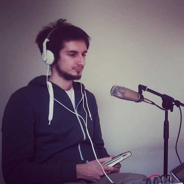 """Артем Киселев на записи шоу """"Характеристика"""" #vigorousspace"""