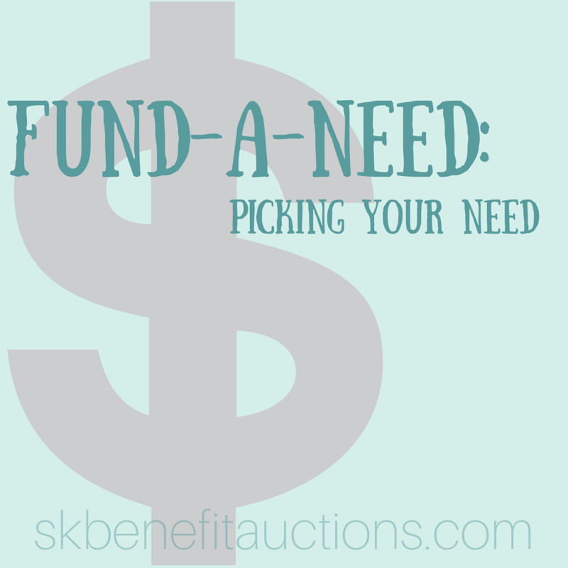 fund-a-need selection | Sarah Knox Benefit Auctions