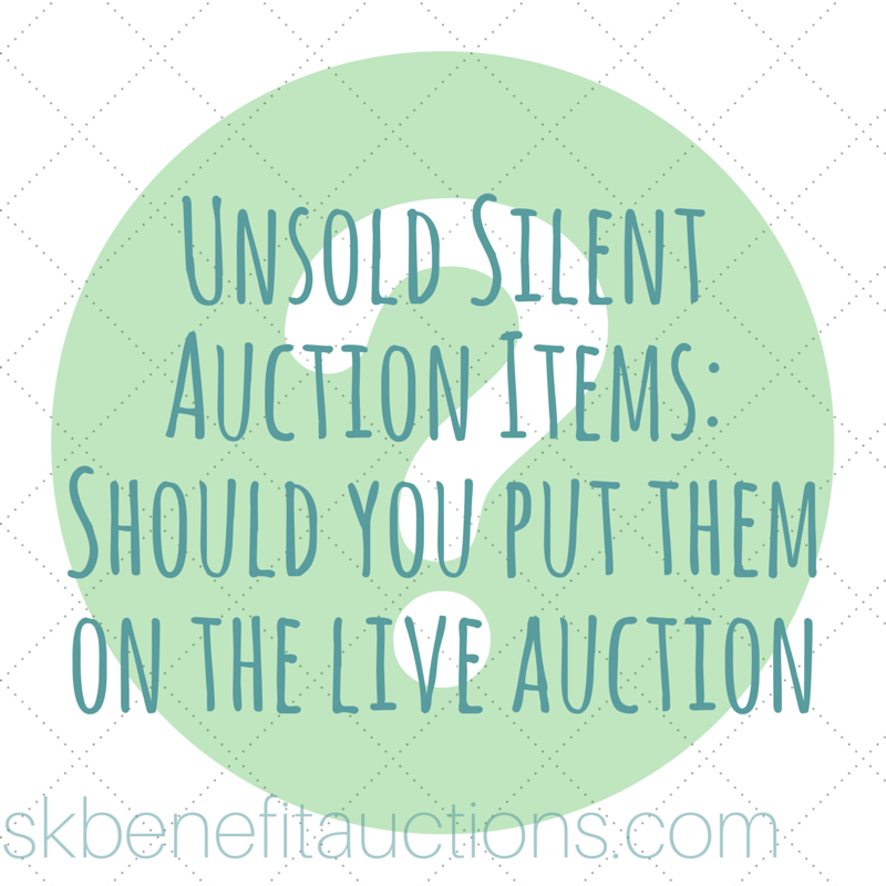 Unsold Silent Auction Items | Sarah Knox Benefit Auctions