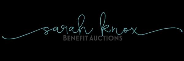 Sarah Knox Benefit Auctions
