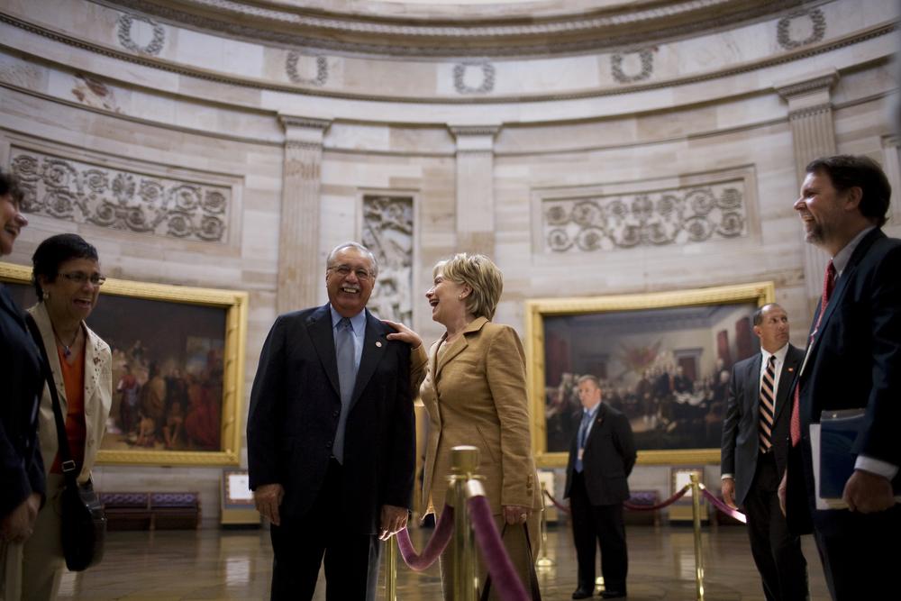 Fmr. Senator Hillary Clinton, (D-NY)