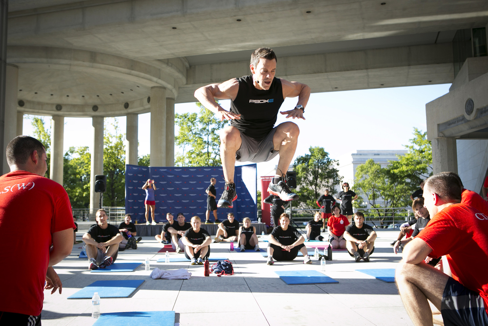 Tony Horton, Creator of P90X at the Canadian Embassy